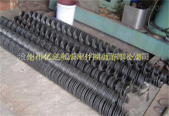 批量供应 机床螺旋杆排屑机 无轴螺旋杆 螺旋巻屑器