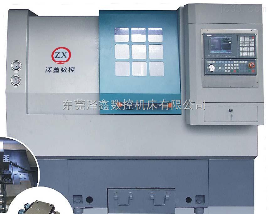 CNC 3轴简易车铣复合机床 ZX-36/46JX