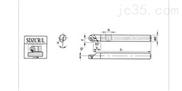 SDZCR 93度螺钉式内孔车刀