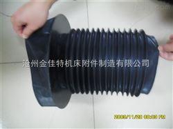 供应椭圆形帆布伸缩防尘罩,高密度油缸丝杠防护罩
