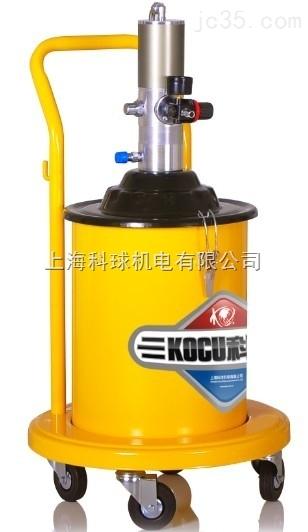 科球GZ-9T气动黄油机20升