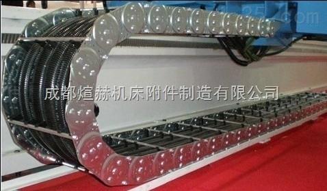 自动化机械耐腐蚀穿线线缆渗碳钢铝拖链产品图片
