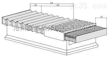 MQL-1机床导轨防护裙帘
