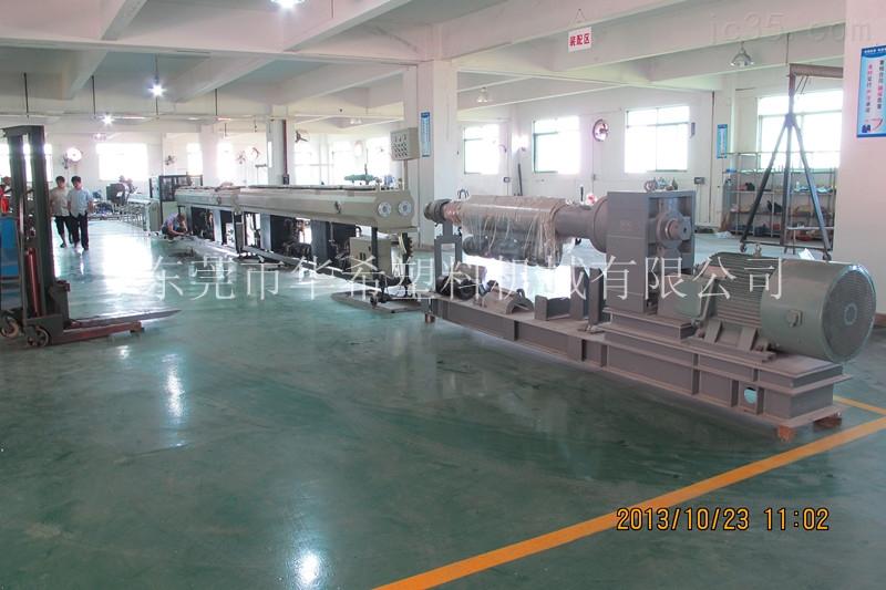 一出二PP-R管材挤出机生产线