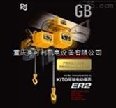 供应日本鬼头(KITO)双钩环链葫芦