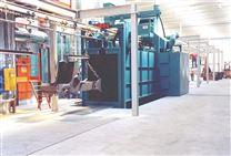 非标工程机械除锈机-型钢及钢管抛丸机-Q37系列吊钩通过式抛丸清&
