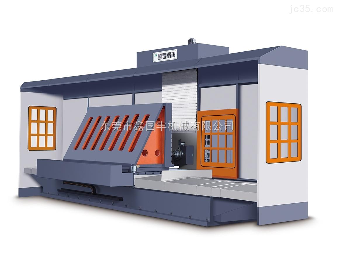 数控单柱卧式铣床(开框机)