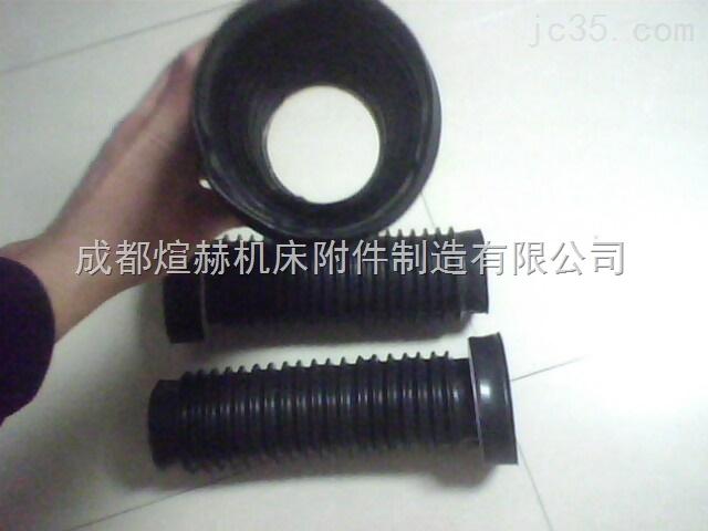 橡胶伸缩防尘套产品图片