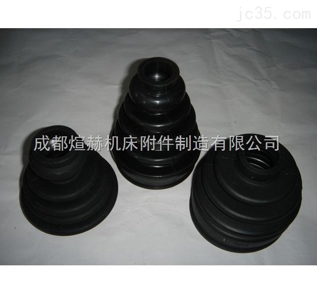 橡胶伸缩防尘套价格产品图片