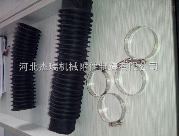 机床防护罩 丝杠防护罩 圆形伸缩防护罩 油缸防护罩