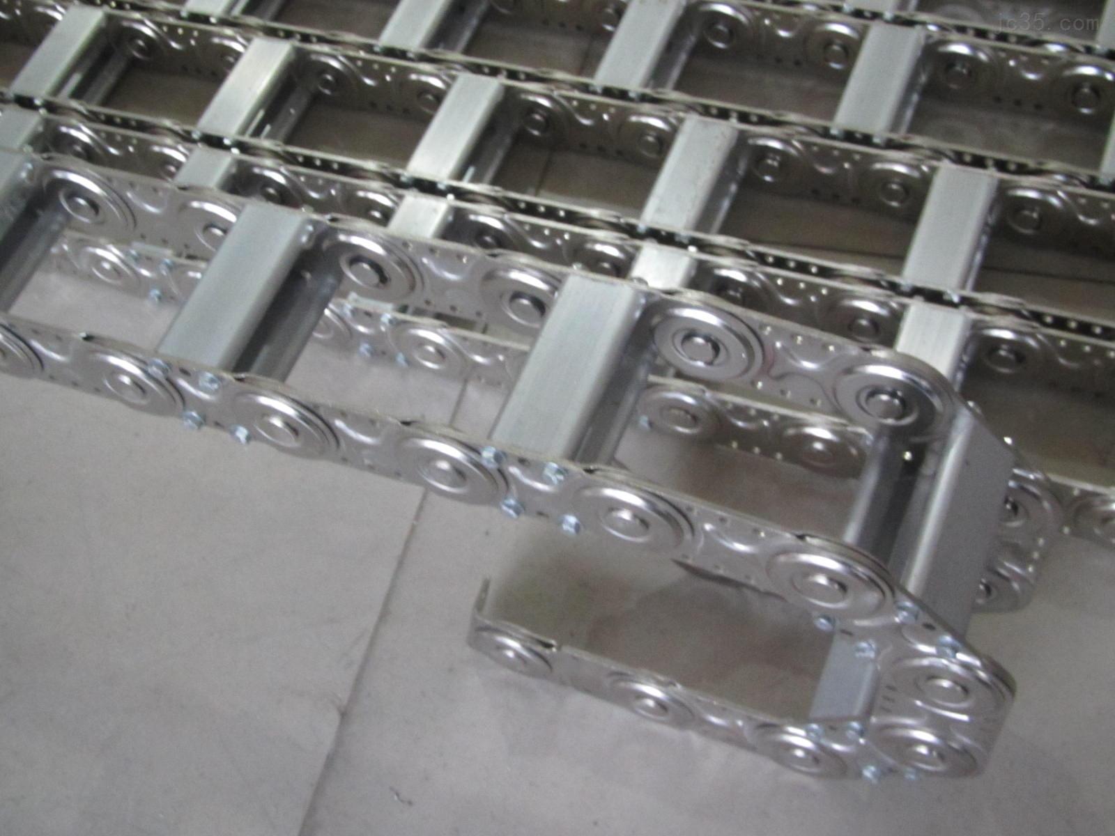 54天 产品详情 不锈钢电缆钢铝拖链 不锈钢电缆钢铝拖链结构与主体