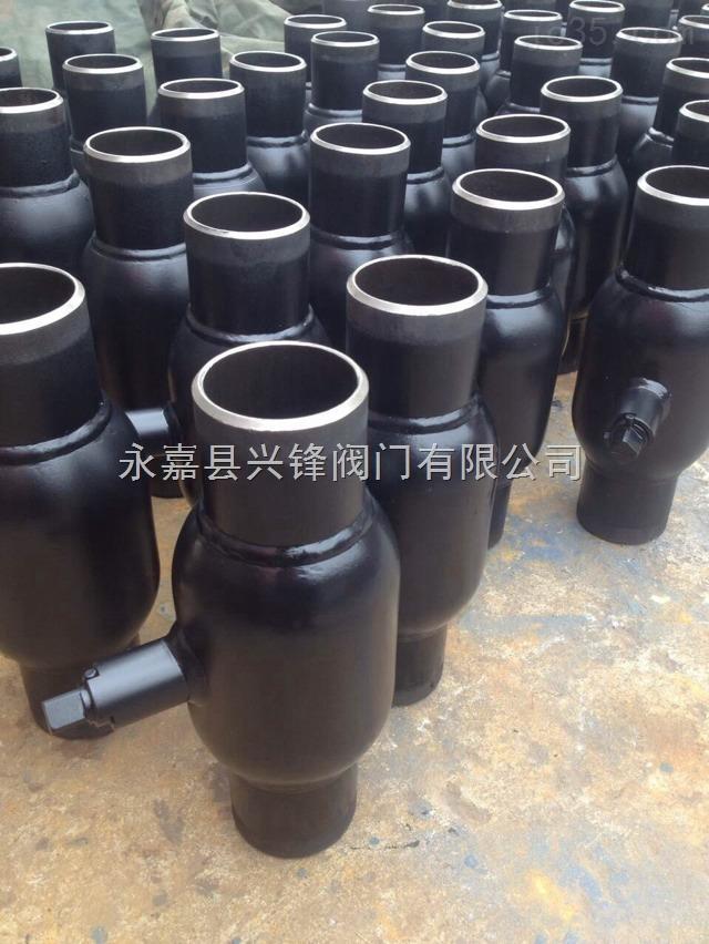 钢制全焊接球阀DN100