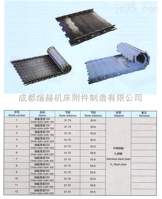 碳钢链板制造厂家产品图片