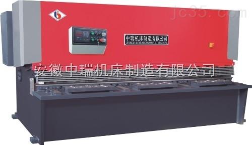 大型液压传动数控剪板机出口-中瑞机床剪板机