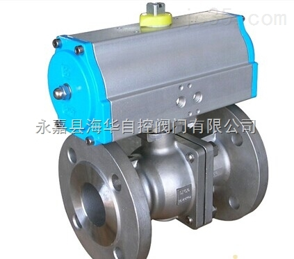气动高平台球阀适用于天然气行业