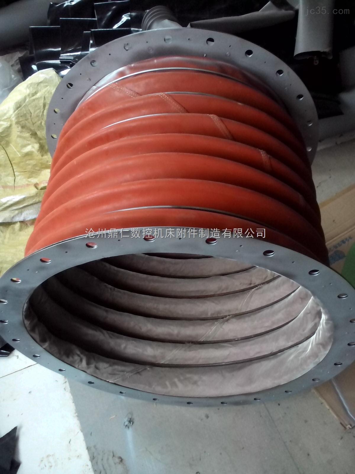 上海耐高温通风软连接耐温+1000℃