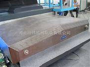 落地镗床专用防铁屑镗床钣金护罩 承重导轨伸缩护罩厂