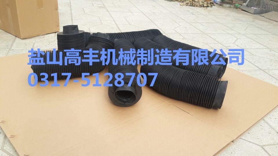 油缸防尘罩, 耐高温油缸防护罩,伸缩式油缸防尘罩,圆型、方型、八角形护罩