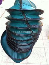 河南伸縮式縫制防護罩 拉鏈式絲杠圓罩