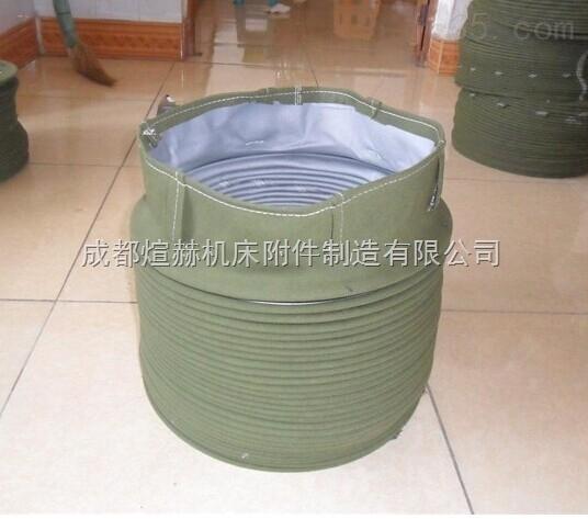 新型机床丝杠防护罩实体厂家产品图片