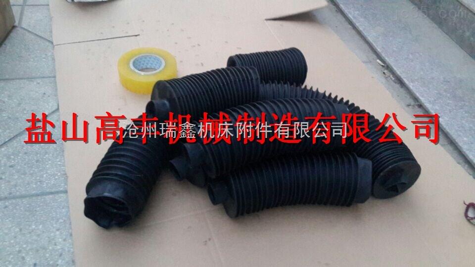 人工缝合 圆形丝杠防护罩 圆形伸缩气缸护罩 油缸护罩 光杆护罩