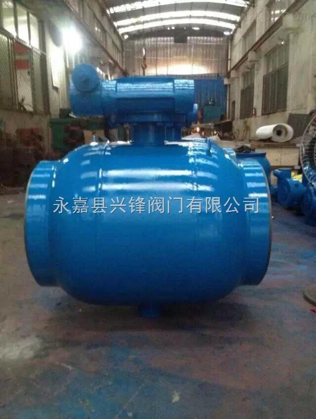 供暖燃气全焊接固定式球阀