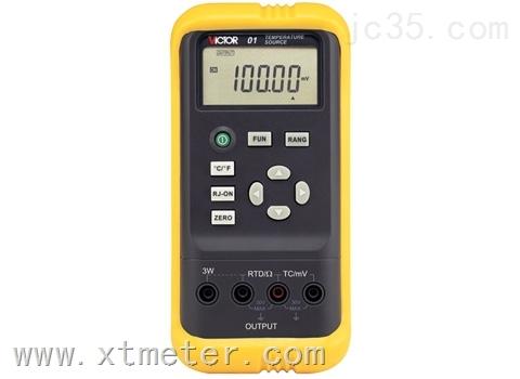 深圳VICTOR01过程校验仪VC01温度校准器