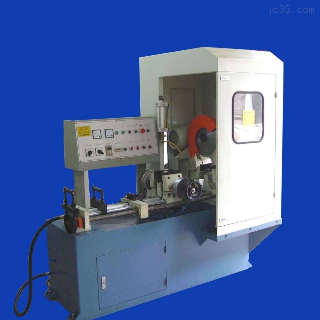 铝材电子散热器伺服送料切割机,数控伺服切铝机