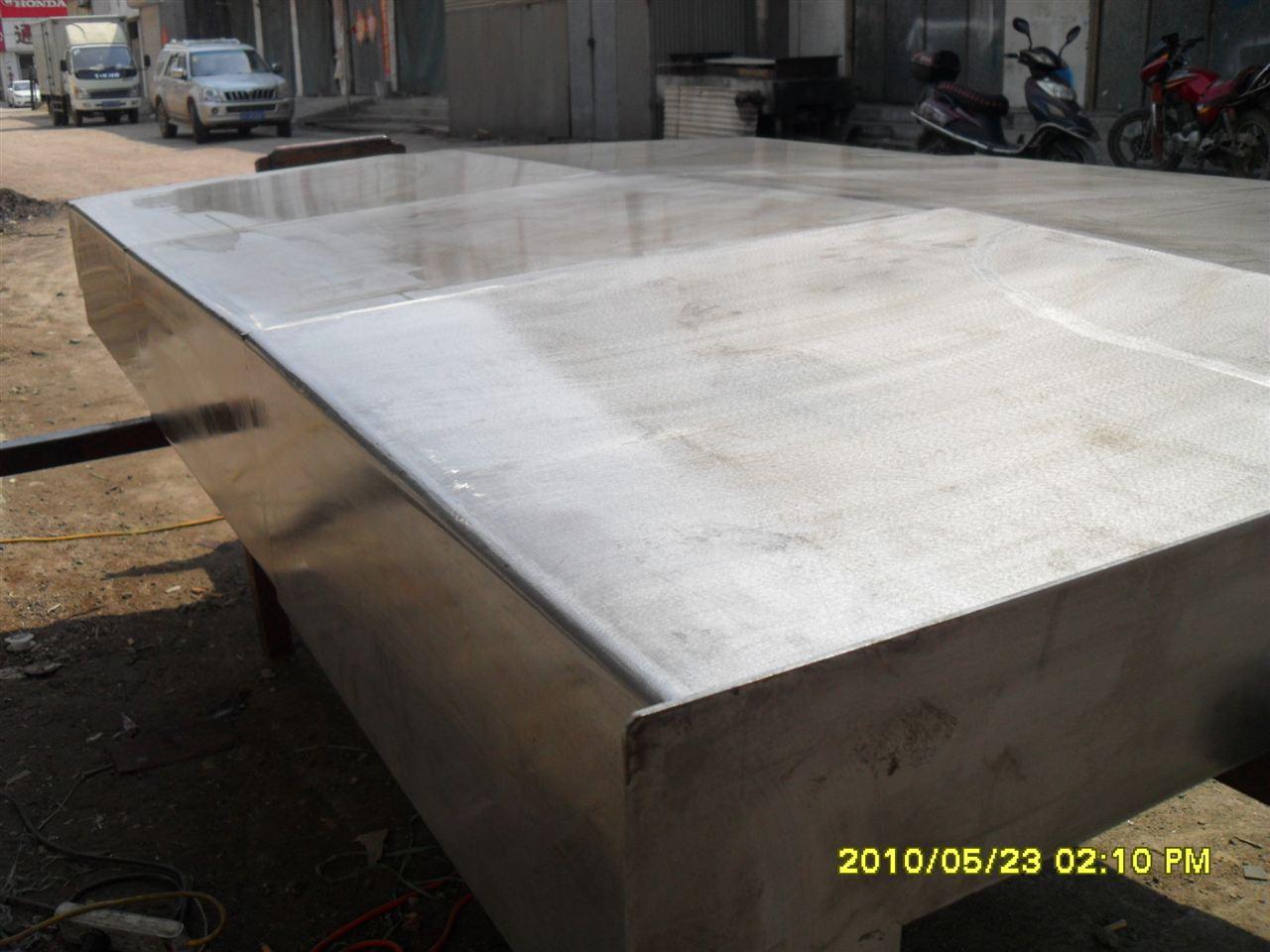 数控机床钢板防护罩产品图