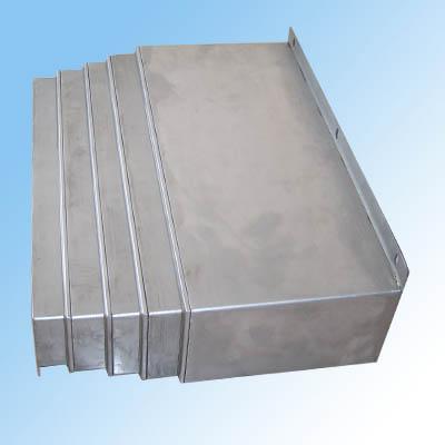 钢板伸缩式防护罩公司产品图