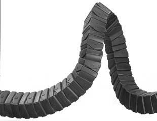 SQ型工程塑料拖链系列产品图