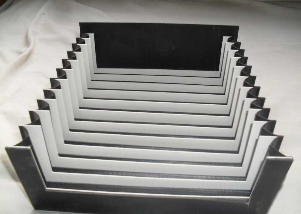 加工中心风琴式防护罩产品图
