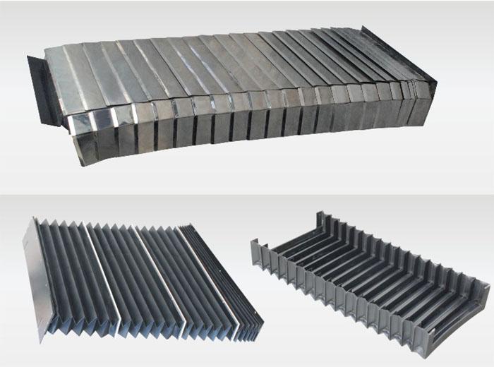 机床立柱风琴防护罩产品图