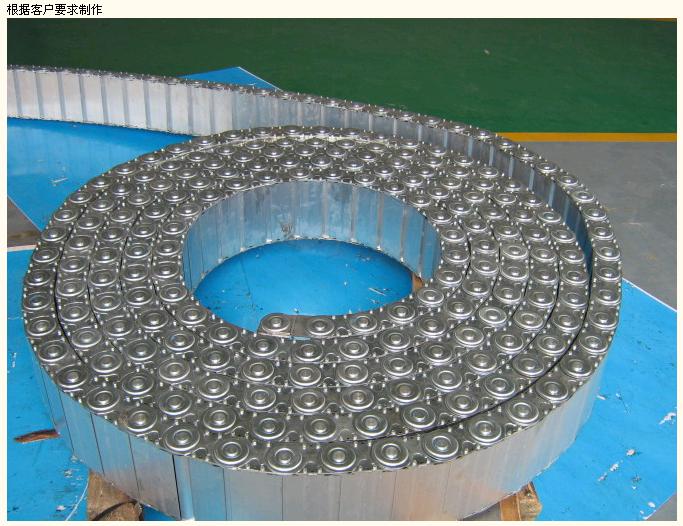 机床钢铝坦克链、加强型拖链产品图