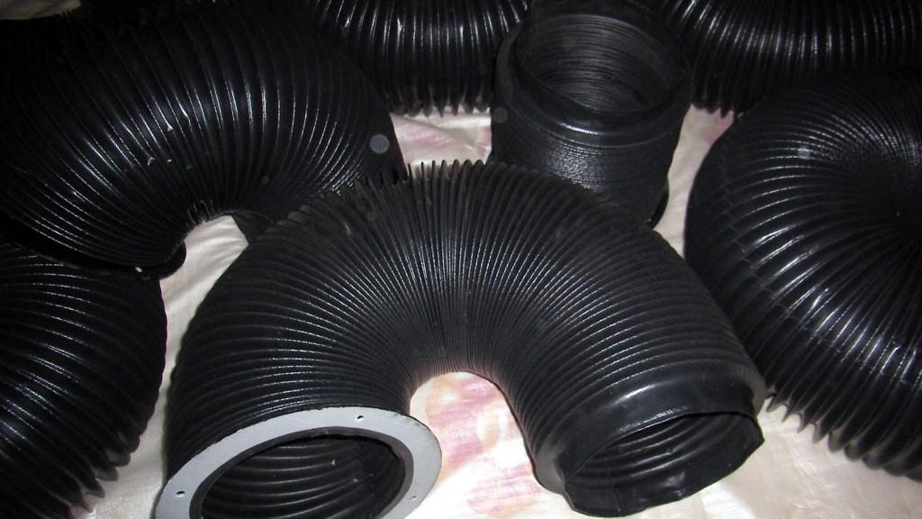 天津机床圆形伸缩防尘罩产品图