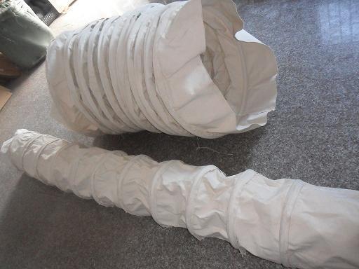 卸料口水泥伸缩布袋产品图