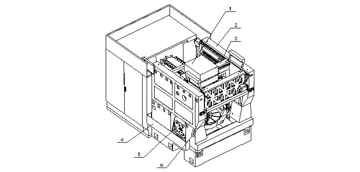 """一、机床简介与特性介绍 SVW80机型为摇篮式五轴联动立式加工中心,标准配置海德汉iTNC530数控系统,并可根据用户要求配置其他系统。 摇篮式五轴联动立式加工中心SVW80的直线进给轴(X、Y、Z)均采用国际上目前先进的""""箱中箱(box-in-box)""""结构设计,可确保最佳的粗加工时的刚性和精加工时的精度。机床是通过滑枕箱(X轴)运动,横梁(Y轴)移动,滑枕(Z轴)移动,摇篮式转台(A、C轴)旋转,实现五轴联合动作。整个机床由床身、立柱、横梁、滑枕箱、滑枕、气动系统、自动润滑系统"""